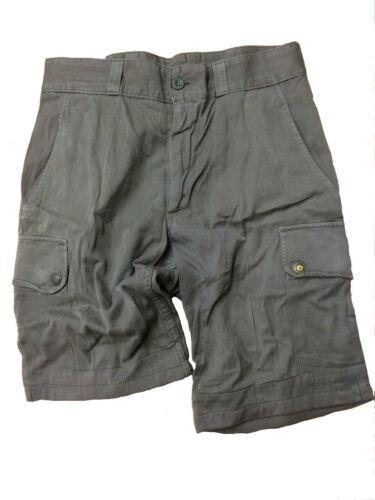 Ladies Army Surplus Combat Bermuda Cargo Shorts, Light Cotton, olive green
