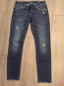 Brand new silver jeans