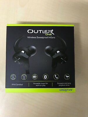 Creative Outlier One Bluetooth Wireless Inner Ear Type Earphone With Mic