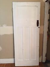 Vintage Federation Solid Timber Cedar Doors Lilyfield Leichhardt Area Preview