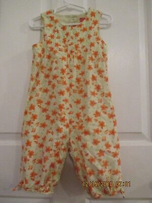 toddler girls Gymboree size 2T one piece jumper outfit