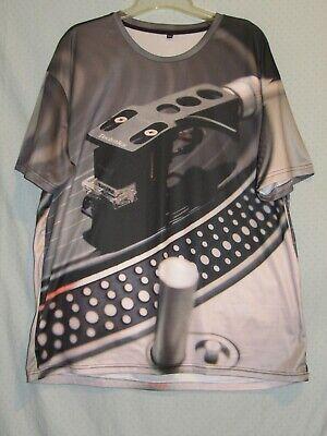 Technics Turntable Shure M44-7 Cartridge Shirt 4XL DJ Hip Hop Vinyl Records for sale  Shipping to India