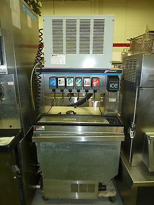 Follett R5a - 5 Flavor Soda Fountain Wundercounter Ice Maker - Refurbished