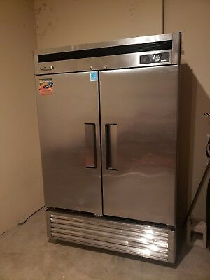 Turbo Air Commercial Freezer 2 Door Model Msf 49 Nm Good Condition Stainless