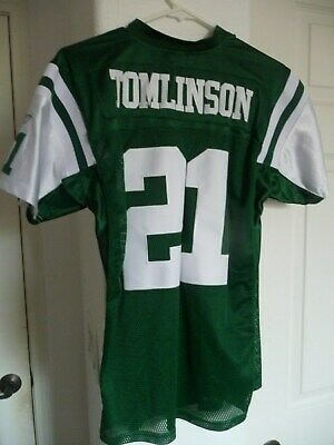 8b2b0549dc8 New York Jets LaDainian Tomlinson Jersey Reebok Youth Medium Large Chargers  READ