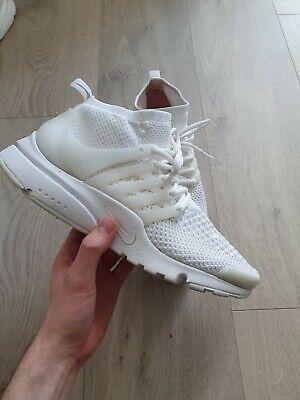Nike Flyknit Presto Ultra White uk 9
