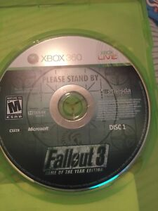 Fall out 3 Xbox 360 $15 obo