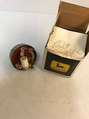 Genuine John Deere Original Equipment Light Switch