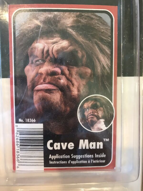 Cave Man Foam Latex Appliance with Make Up Kit