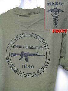 ARMY-MEDIC-T-SHIRT-MILITARY-IRAQ-COMBAT-OPERATIONS-T-SHIRT-NEW
