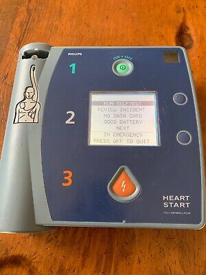 Philips Heartstart Fr2 Aed Laerdal Defib Pass Check With M3863a Battery