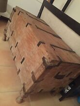 Industrial Wooden Chest Cremorne North Sydney Area Preview