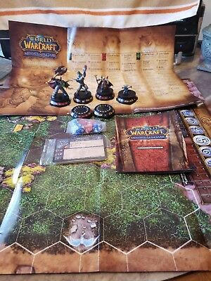 WORLD OF WARCRAFT MINIATURE GAMES STARTER SET UPPER DECK BLIZZARD