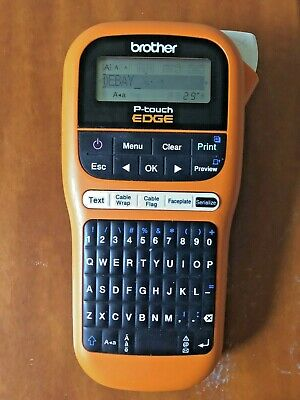 Brother P-touch P-te105 Label Maker Professionaldiy Used