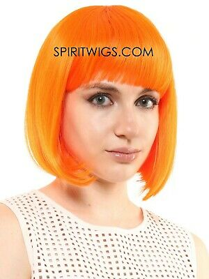 Leeloo Halloween Costume (LEELOO Fifth Element Character Deluxe Halloween Costume Cosplay Anime Wig)