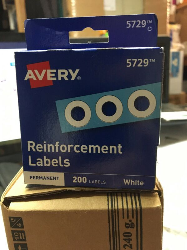 Avery Reinforcement Labels 5729