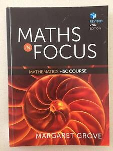 Maths in Focus Mathematics HSC Course, Revised 2nd Edition, Grove Collaroy Manly Area Preview