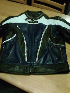 AGV leather jacket