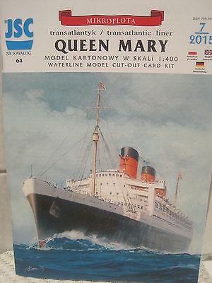 Queen Mary  Kartonbausatz *NEU* Bastelbogen Kartonmodell