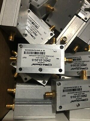 Zndc23-2g Directional Coupler Mini Circuits 800-2000mhz