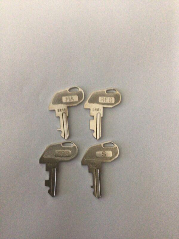 TEC Cash Register Key Set (9Rxx)