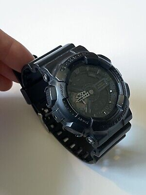 Casio G-Shock Matte Black Case/Band GA-110MB Module 5146
