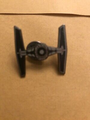 Star Wars Tie Fighter Die Cut 1 Pin Badge