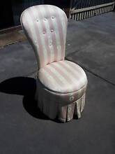 BENTWOOD / BEDROOM CHAIR UPHOLSTERED WITH SPRING SEAT Kingsley Joondalup Area Preview