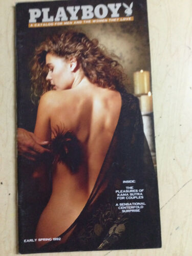 Playboy Catalog Early Spring 1992 sexy cover Corinna Harney + order form intact