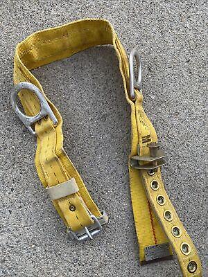 Lad-saf Db Industries Linemans Adjustable Waist Climbing Safety Belt Harness
