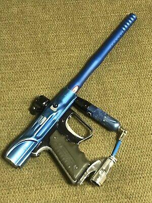 Blue Sft Shocktech Shocker Paintball Gun Smartparts Sp Gog Dlx Rare Collectors