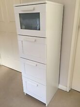 Chest of Drawers - White with 4 draws Wembley Cambridge Area Preview