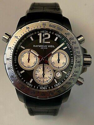 Raymond Weil Nabucco Automatic Titanium Chronograph Swiss Watch 7700 Excellent