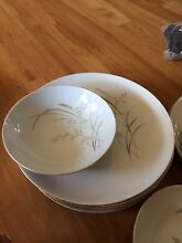 Saji Japanese fine china dinner set. Manufactured in 1950's. East Ballina Ballina Area Preview