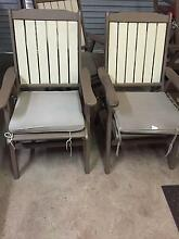 6 Outdoor Wooden Chairs For Sale Wynnum West Brisbane South East Preview