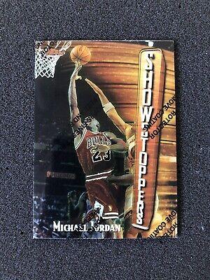 MICHAEL JORDAN 1997-1998 Topps Finest Show Stoppers #271 / S11 BASKETBALL CARD C