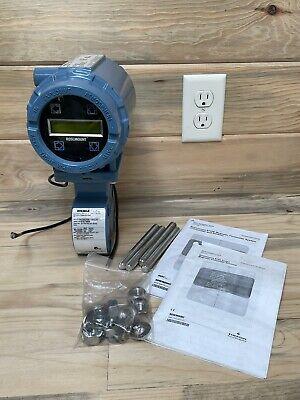 Rosemount 8732e Pressure Transmitter 8711 Magnetic Flow Meter