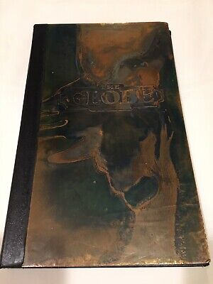 Advertising Globe Theater Berlin Md. Vintage Copper Menu Cover Collectible
