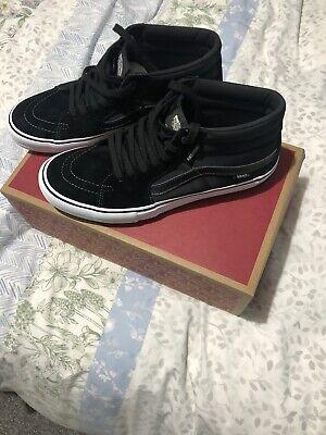 Vans Sk8-PRO -Mid Anti Hero Skateboarding Shoes Brand New Uk 10