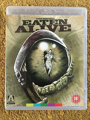 EATEN ALIVE  (1976)  -  Blu Ray  -  Arrow Films  - Tobe Hooper - Robert Englund