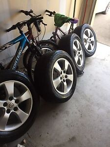 """16"""" rims and tires for Toyota Sienna,Camry, and rav 4"""