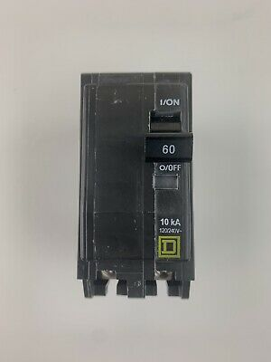 Square D By Schneider Electric Qo260cp Qo 60 Amp Two-pole Circuit Breaker New