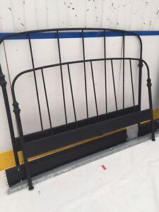 Queen Black Metal Bed Frame