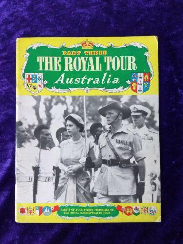 1954 Royal tour of Australia vintage book