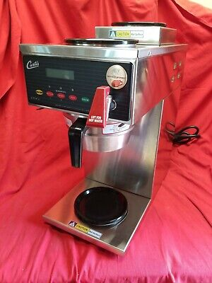 Curtis Alpha 3gt Gold Cup Series Coffee Brewer 1 Lower 2 Upper Warmers