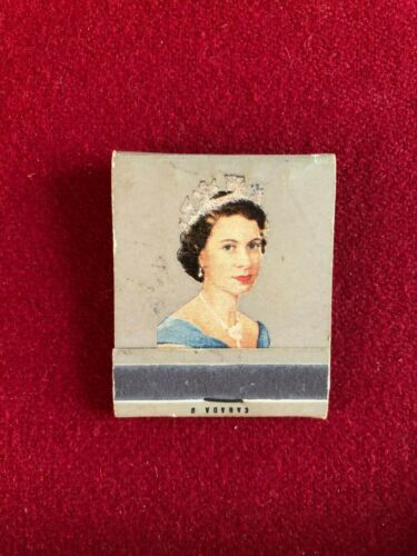 "1953, Queen Elizabeth, ""Coronation"", ""Un-used"" Match Book  (Scarce / Vintage)"