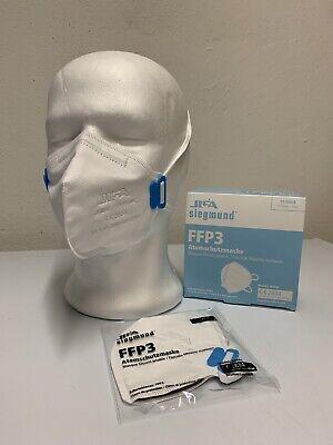 FFP3 Maske ohne Ventil Halbmaske CE2834 Atemschutzmask FFP 3 Mundschutz 10 Stück