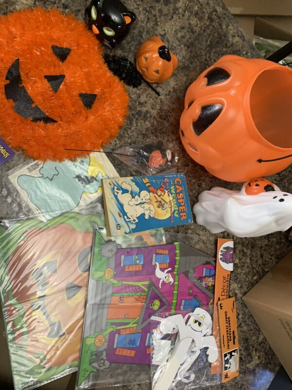 Halloween Lot Vintage And New