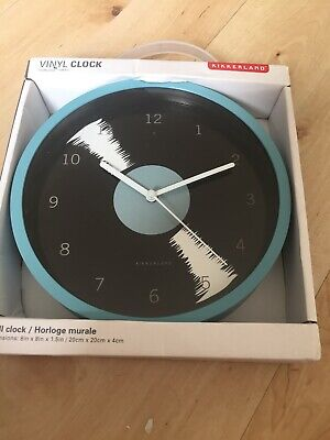 kikkerland clock BNIB