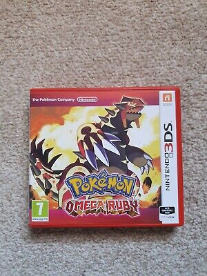 Pokémon Omega Ruby (Nintendo 3DS & 2DS) Great Condition - Box and Cartridge